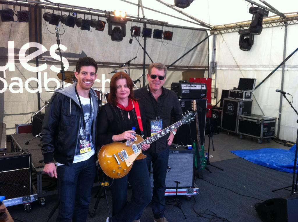 The Band - Backstage Broadbeach