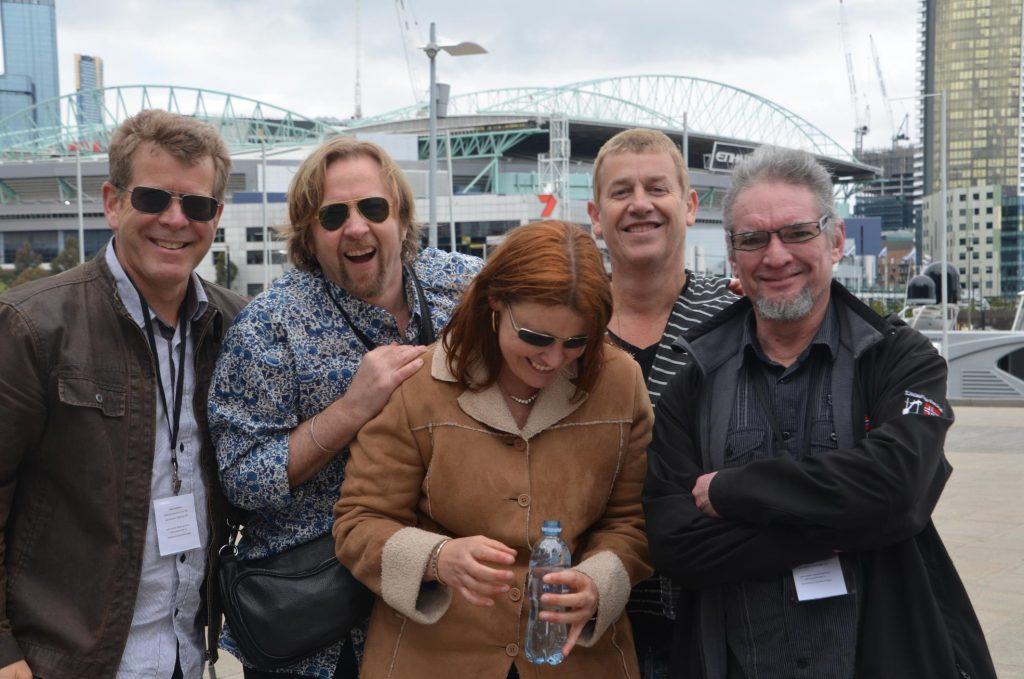 The Band - Backstage Docklands Festival